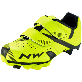 Northwave Hammer 2 Schuhe Kinder yellow fluo/black